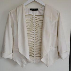 👑 Sexy white blazer!